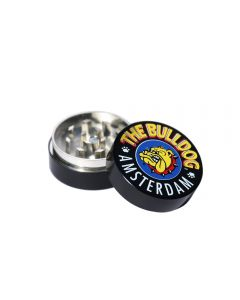 Dichavador de Metal The Bulldog Amsterdam Black 4cm (2 Partes)