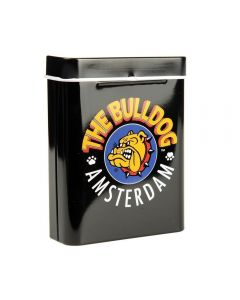 Lata Cigarreira Tin Case The Bulldog Amsterdam