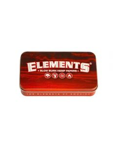 Latinha Elements Red Tin Case